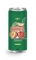 250ml carbonated apple drink low sugar