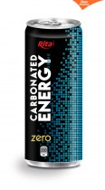 330ml Carbonated energy drink